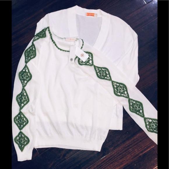 Tory Burch Sweaters - Tory Burch Women's Timeless 2 Sweater Bundle L&XL
